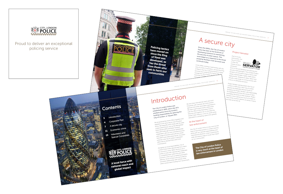 City Of London Police Brochure2